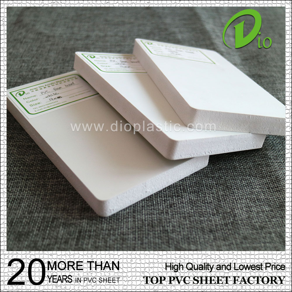 China supply 0.55 density 2 inch cupboard 4x8 pvc foam sheet price