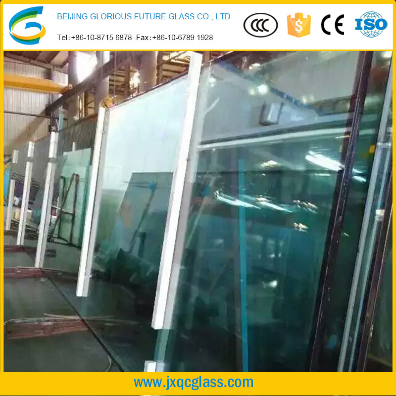 China manufacture decorative insulated glass price insulated low-e glass