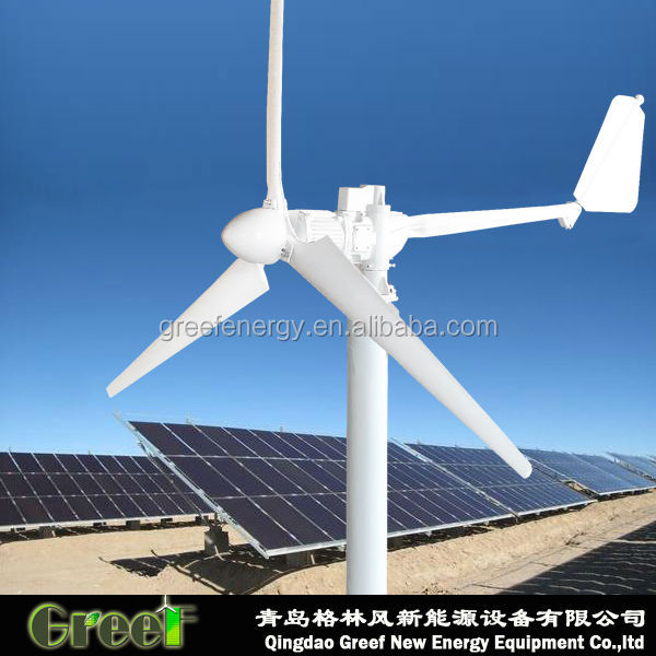 HOT ! Farm use hybrid solar and wind off grid system or on grid , 220V 120V