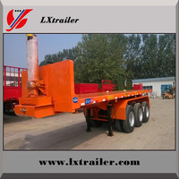 3 Axles 60 Ton Payload Semi Container Dumper Trailer