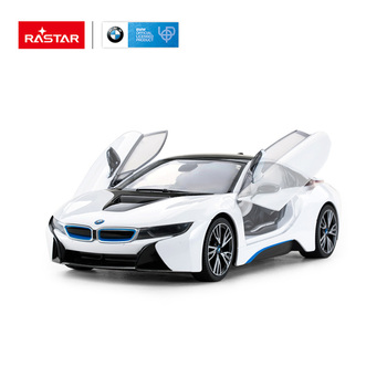 RASTAR open light door 1:14 model BMW i8 remote control toys rc car