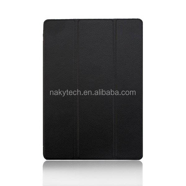 "Pu leather 8.9"" tablet smart cover case for Google Nexus 9,with back stand function"