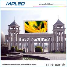 High quality p10 led display outdoor message
