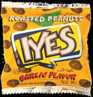 Iyes Coated Roasted Peanuts Garlic