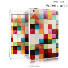 Newest color print silicon rubber tablet cover for kids For ipad mini 123