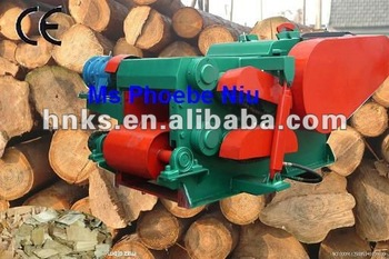 model 218 tree drum chipper machine