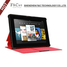 For 2014 Amazon Kindle Fire HD 7'' slim pu leather case with stand