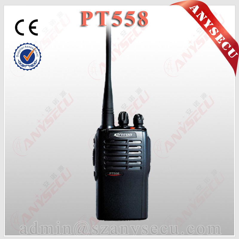 portable commerical 2 way radio with 1200mAH long standby time <strong>battery</strong> pack PT558 Two Way Radio long rang