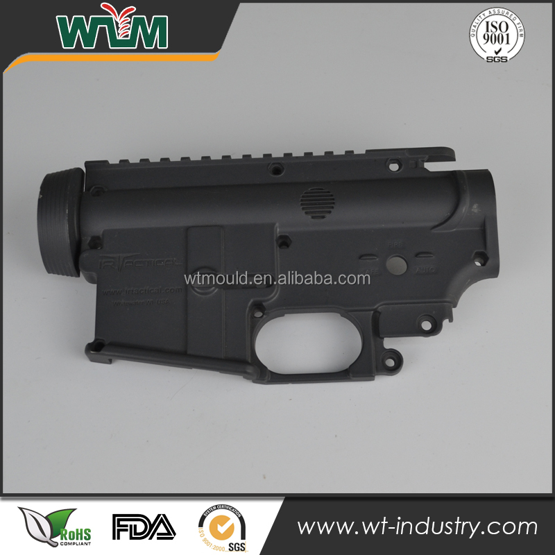 Professional die casting mold factory for black anodized toy guns