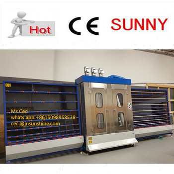 Hollow glass washer equipment / glass washing and drying machine