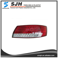 Plastic injection PC Auto/car light, rear bumper moulds parts covers manufacturer/injection plastic rear bumper