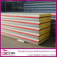High quality Roofing Tile Sandwich Panels Roof Material Rockwool Sandwich Panel for Prefabricated House