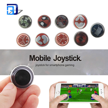 New coming adsorption screen fling mini mobile joystick game controller for iphone