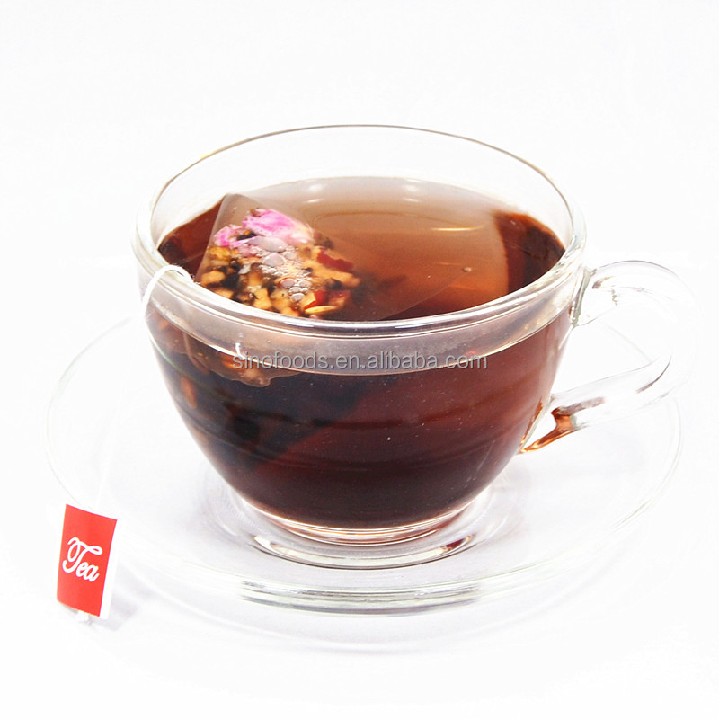 6009 Dark Rose chinese tea for skin beauty Pyramid Teabag