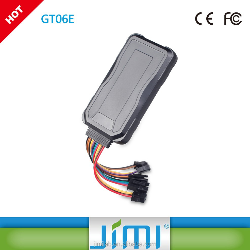 China biggest factory Concox&JIMI GT06E Car 3g gps tracking device locator system