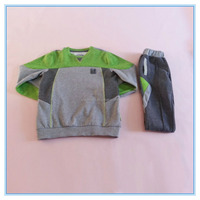 OEM children boys clothing sets, high quality autumn casual kids clothes 2016, matching clothing sets
