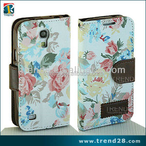 made in china exquisite handy leather cover for samsung galaxy s 4 mini