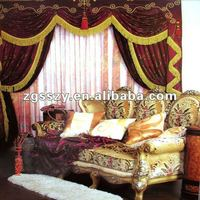 Window Curtain/European Style Window Curtains