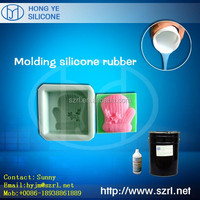 RTV-2 cure Silicon Rubber for art craft soap candle molding