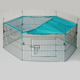 folding wire rabbit enclosure pet fence rabbit cage