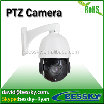 Plug and Play 1.3MP HD auto tracking 10x zoom cctv camera ip ptz camera