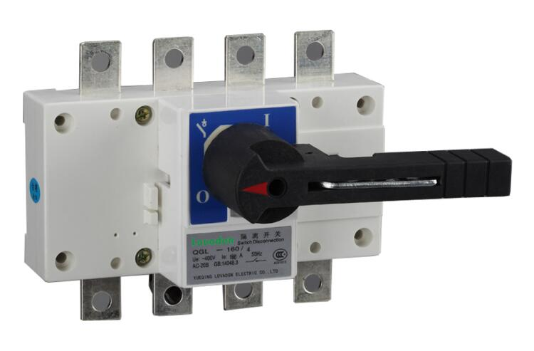 Hot Sale NDGL Series AC 3 Phase 4 Pole Load Break Isolator Switch
