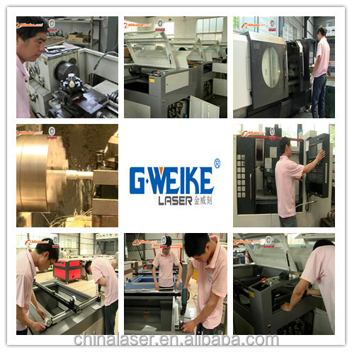Gweike new lc6090 fabric co2 laser cutting machine price