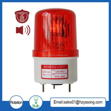 LTE-1103J warning bulb flashing light with sound 90dB