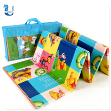 Non-Toxic EPE Printing Baby Kids Folding Play Mat