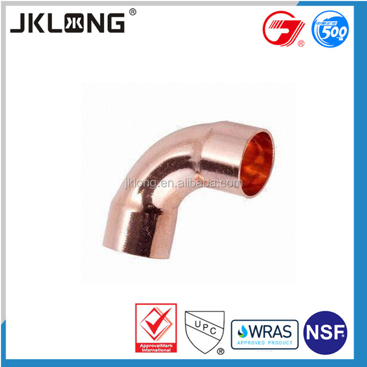 end feed fitting long radius copper elbow FTG x C copper fitting elbow