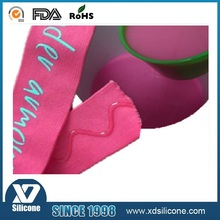 liquid silicone rubber for coating on textiles, T-shirt logo printing, silicone ink
