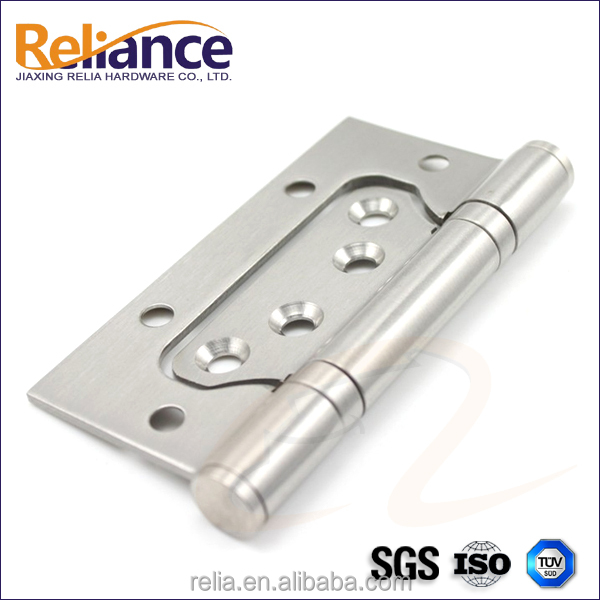 100x75x3mm Polished Stainless Steel 201 Material 2 Balls Bearing Butterfly Sub-Mother Door Hinge