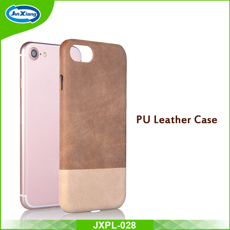 Factory Price Leather PU Luxury Cell Phone Case for iPhone 7