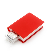 PVC flash drive best wholesale 4GB 8GB custom book shape usb flash pen drive