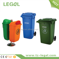 2 Wheeled 100l Plastic Recycle Bin Plastic Recycle Garbage Trash Bin
