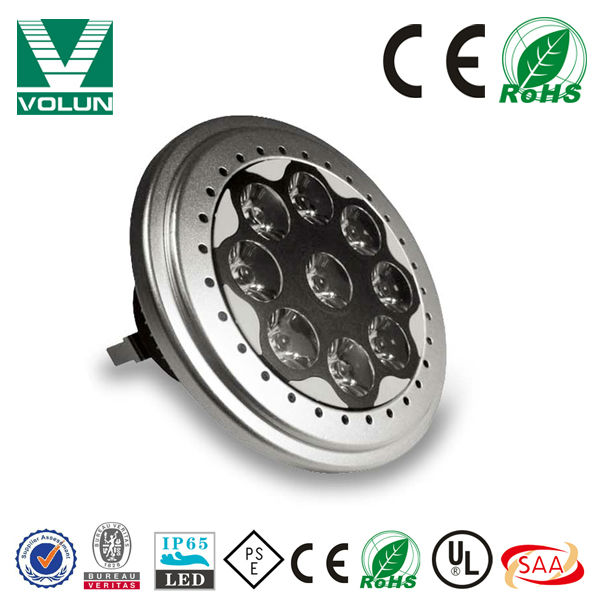 hot new products for 2014 Patent product AR111 GU10 LED 9W