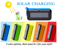 Blue tooth stereo sound solar power wireless outdoor waterproof speaker IPX4 sport music angel blue tooth speaker