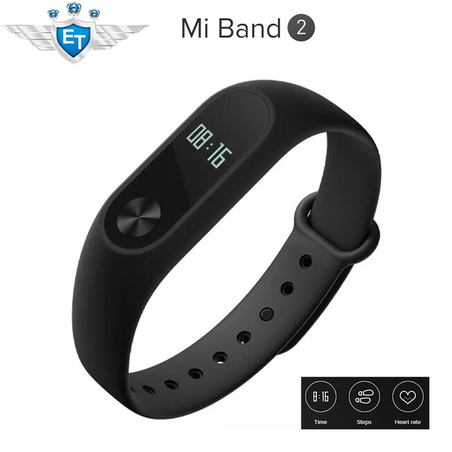 Original Xiaomi Mi Band 2 MiBand 2 Smart Bracelet For IOS  Android 5.0 IP67 Tracker Fitness Wristbands