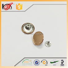 hot sale metal jeans button cover