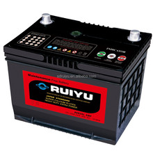 Car battery 12V dry cell battery N200 Korean standard for truck batteries