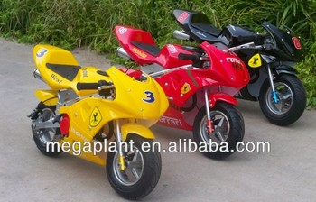 Golden supplier kids mini gas motorcycles for sale