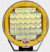 Yellow ring 9inch 96W led driving light, Hotsale C REE ARB Spot 96w led driving light offroad led light bar 96W 111W