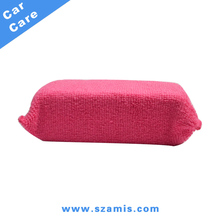 Car Wash Premium Grade Microfiber Foam Wax Applicators Pad