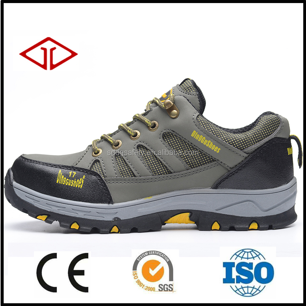 fashion popular hot selling high quality steel toe cap and steel plate hiking men's sport safety shoes for hiking
