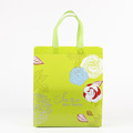 Fast delivery heat seal laminated non woven carry shopping tote bag