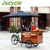Hot dog food cart/ Retro Coffee bike /street mobile coffee trike shop