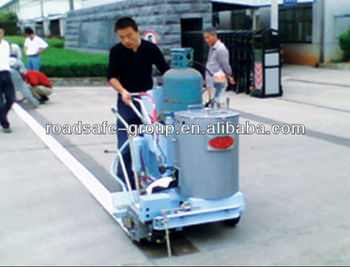 Automatic and hand push road marking line thermoplastic machine