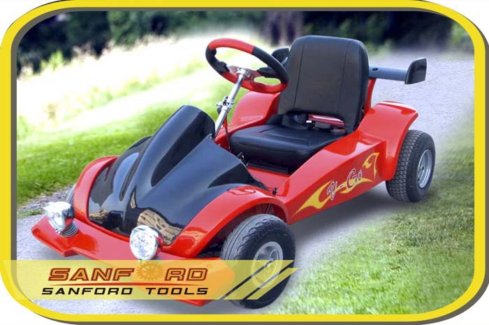 Racing Go kart with Steel & Plastic Safety Bumper Honda Engine