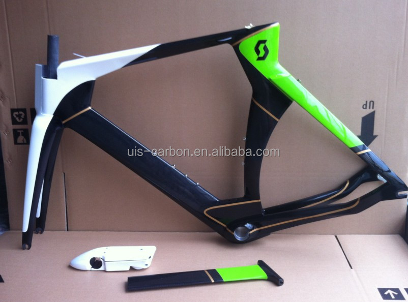 Full Carbon TT Bike Frameset Carton Time Trial Bike Frame