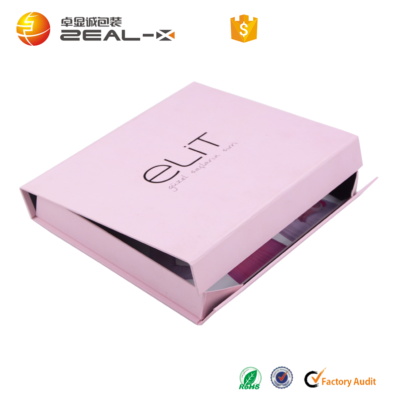 High Quality Luxury Custom Magnetic Closure Folding Paper dress Clothing Box